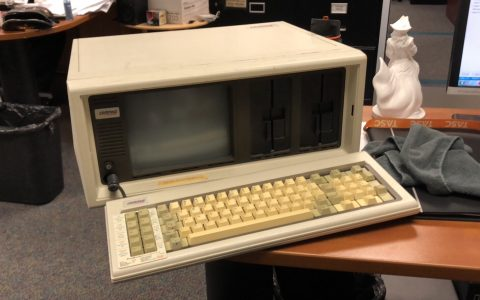 Old computer from work lol